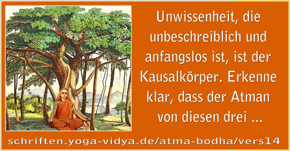 Atma Bodha – Vers 14
