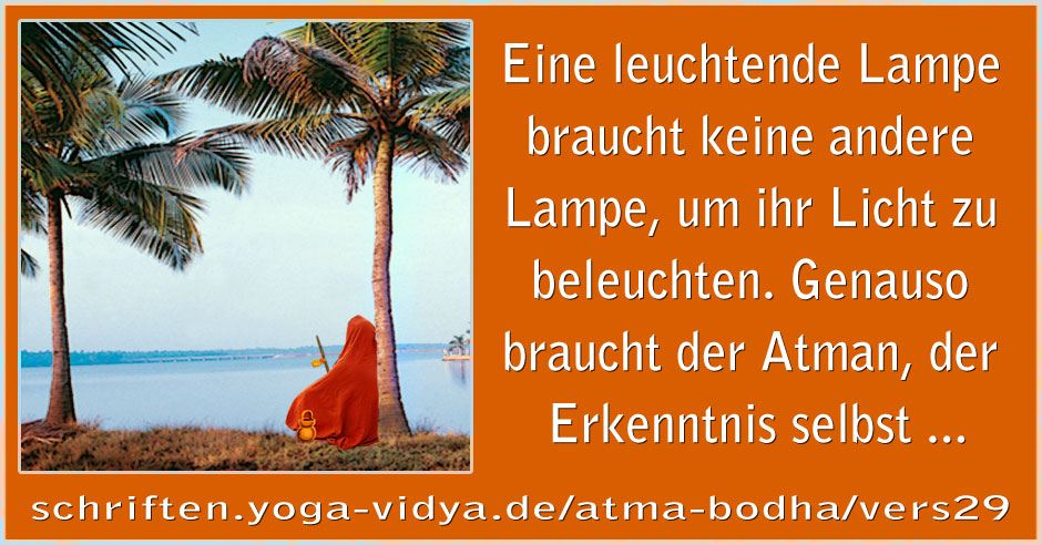 Atma Bodha – Vers 29