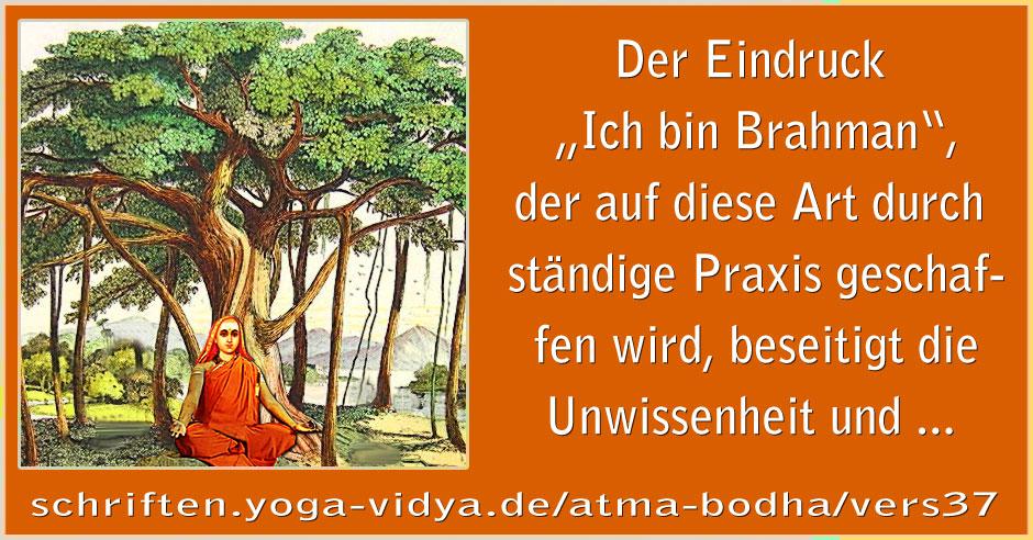 Atma Bodha – Vers 37