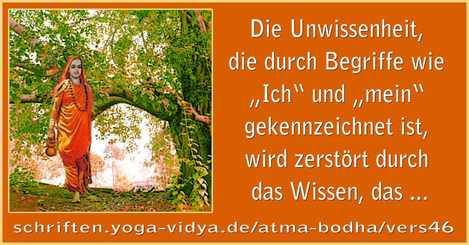 Atma Bodha – Vers 46