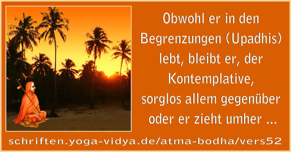 Atma Bodha – Vers 52
