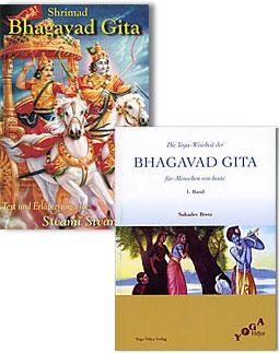 Shrimad Bhagavad Gita und Kommentare von Sukadev