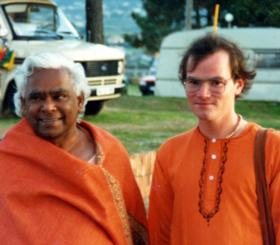 Sukadev mit Swami Vishnu-devananda
