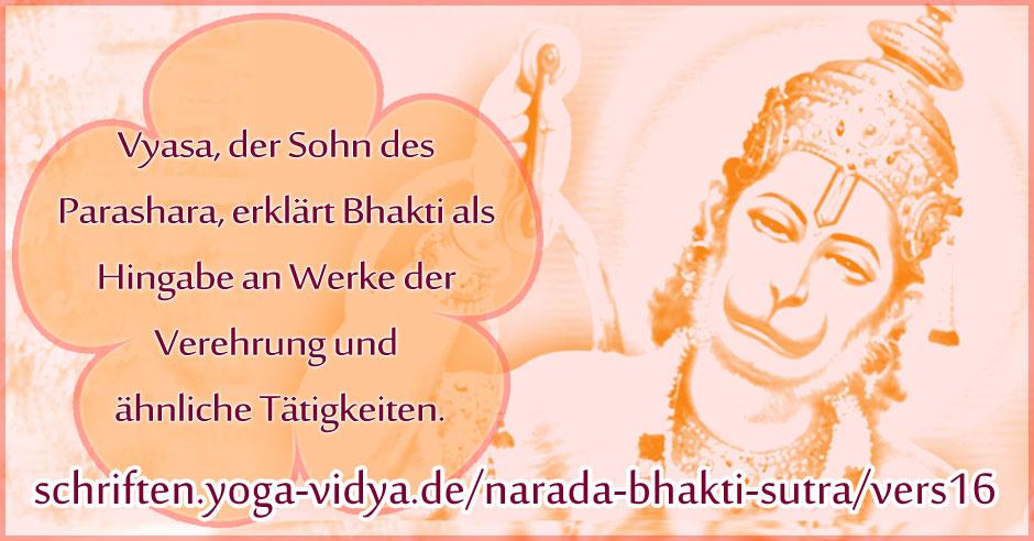Narada Bhakti Sutra 16