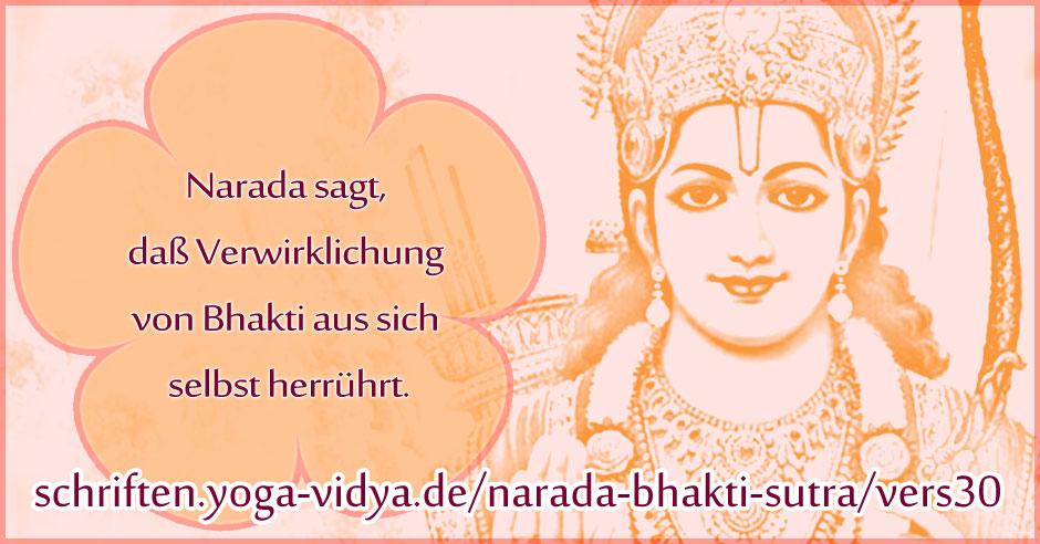 Narada Bhakti Sutra 30
