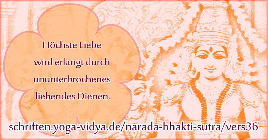 Narada Bhakti Sutra 36