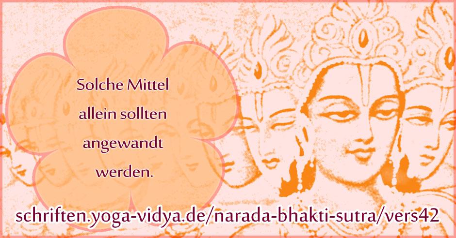 Narada Bhakti Sutra 42