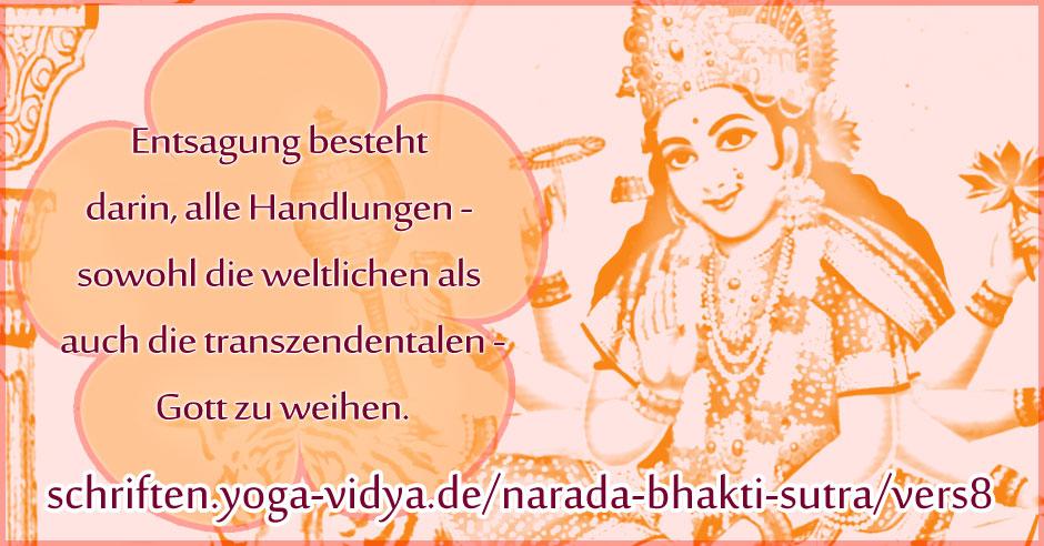 Narada Bhakti Sutra 8