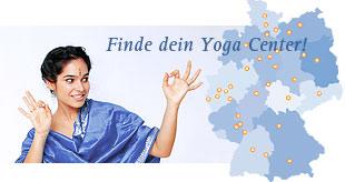 Finde dein Yogazentrum